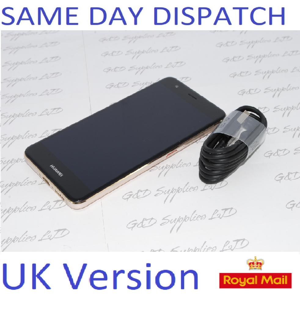 Huawei NOVA CAN-L01 Gold 32GB 3GB RAM 12MP GPS Unlocked Smartphone NO BOX