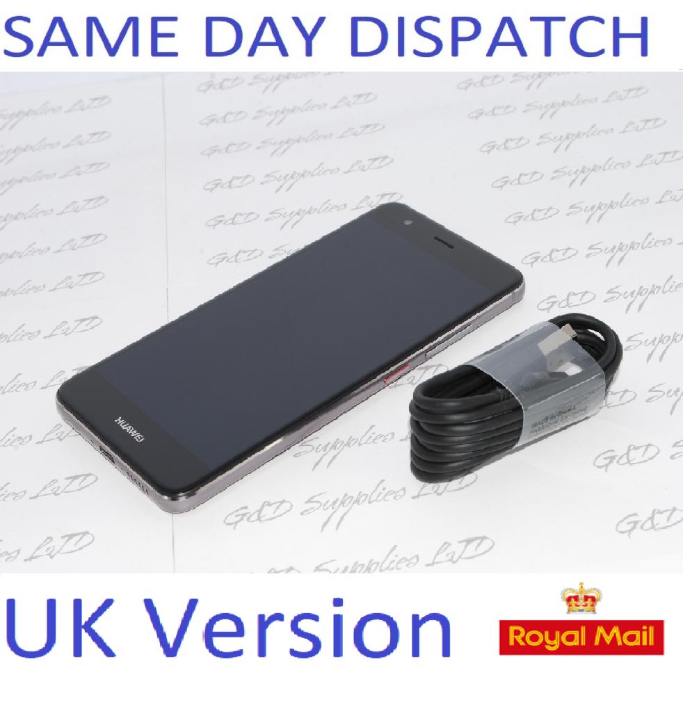 Huawei NOVA CAN-L01 Gray 32GB 3GB RAM 12MP GPS Unlocked Smartphone NO BOX