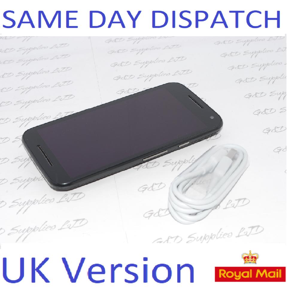 Motorola Moto G4 Play Black XT1604 16GB Unlocked Smartphone NO BOX