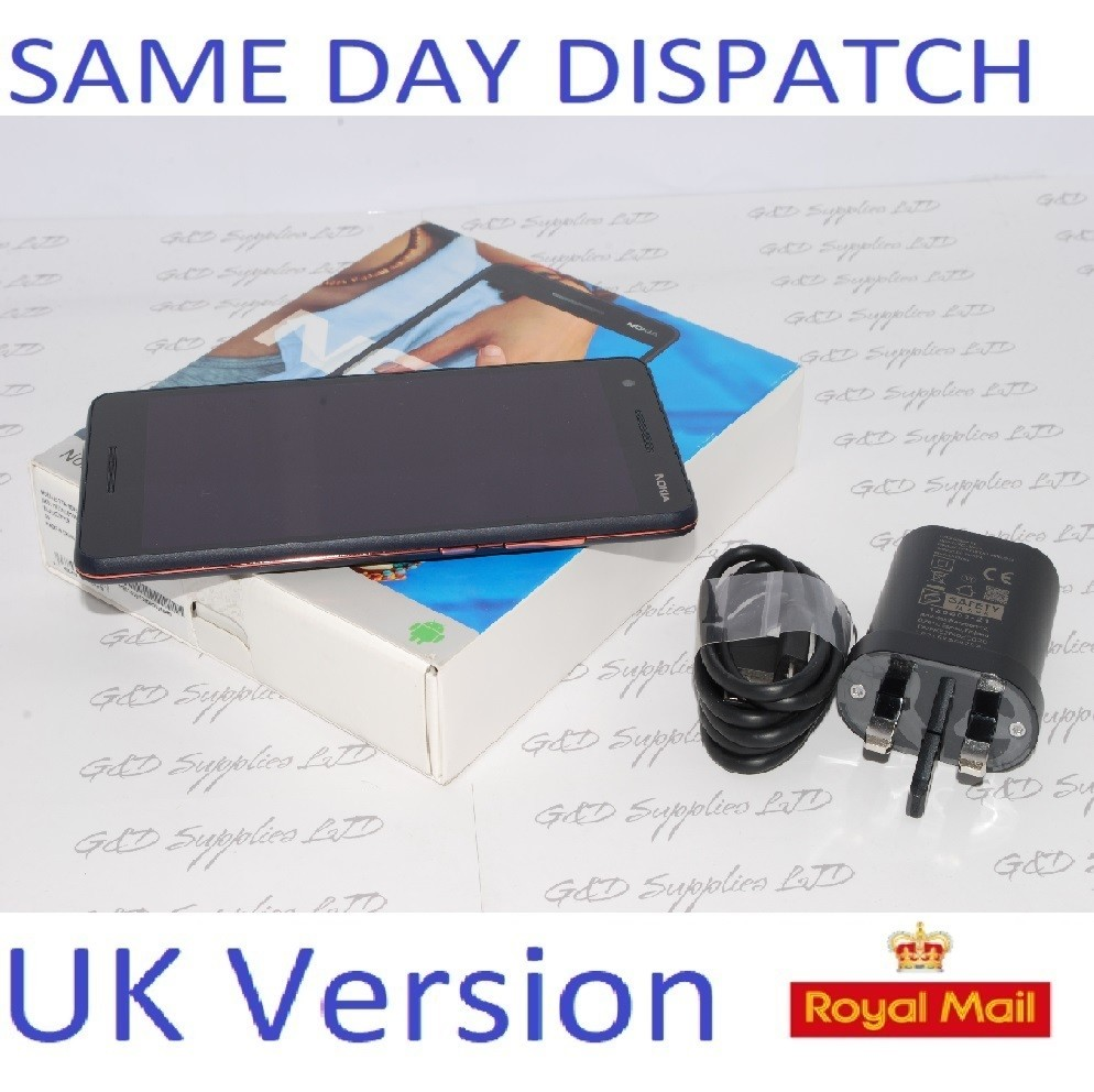 Nokia 2.1 5.5 Inch 8GB 8MP 4G Mobile Phone - Blue Copper Unlocked UK stock #