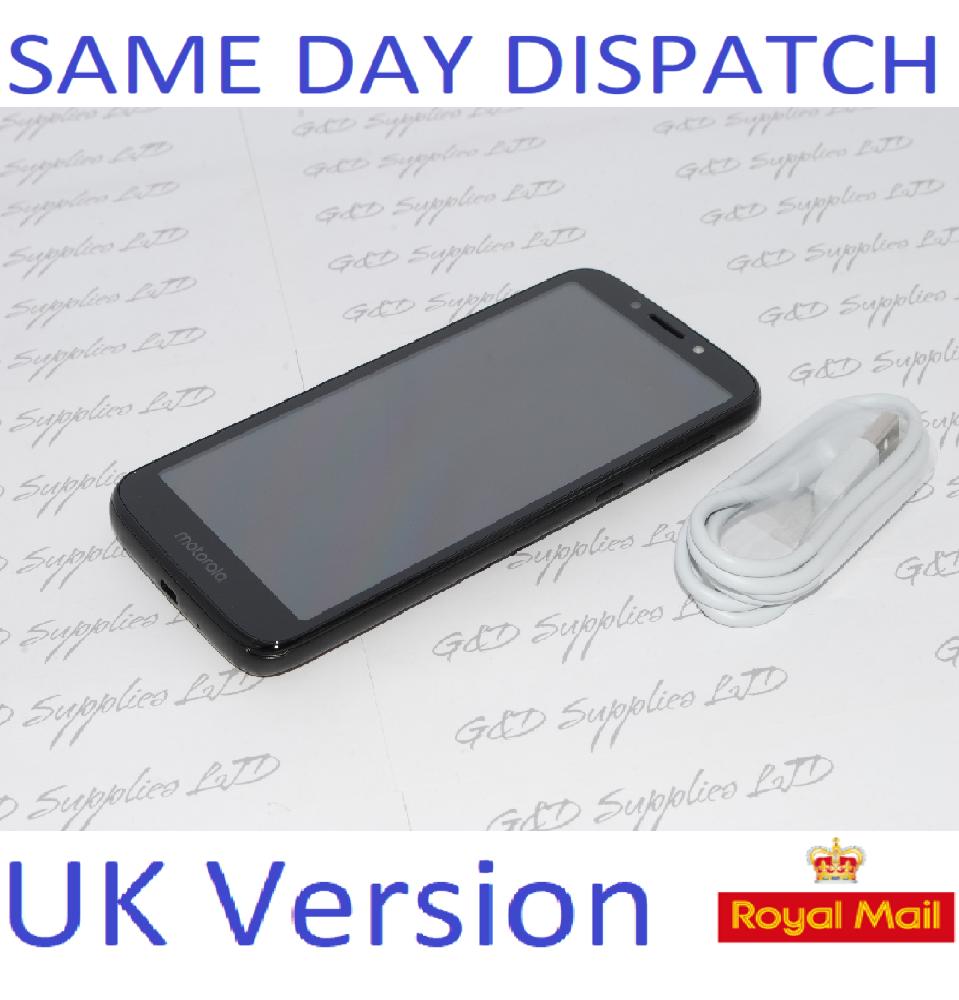 SIM Free Motorola E5 Play 5.34 Inch 16GB  4G Mobile Phone Black UNLOCKED NO BOX