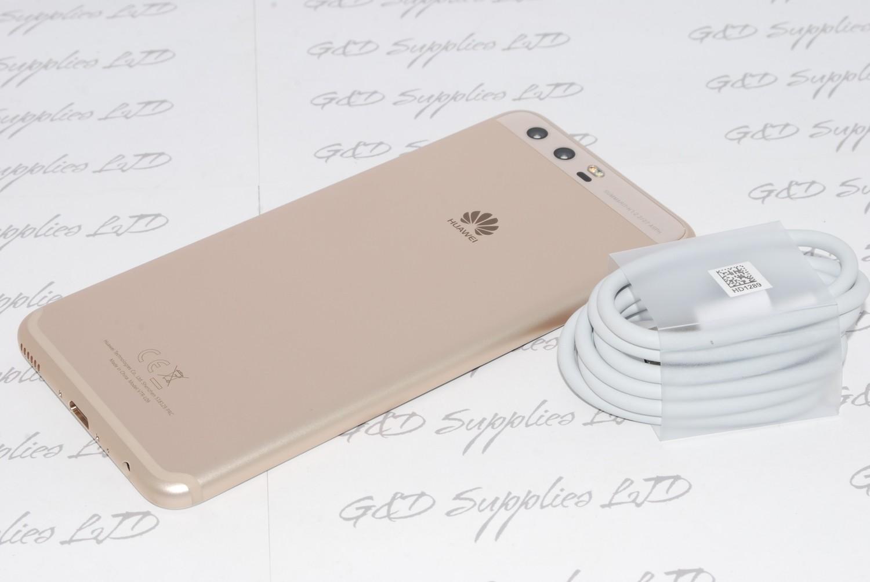 "Huawei P10 64GB 4G 5.1"" Gold  Unlocked Smartphone 20MP Camera UK STOCK  no box"