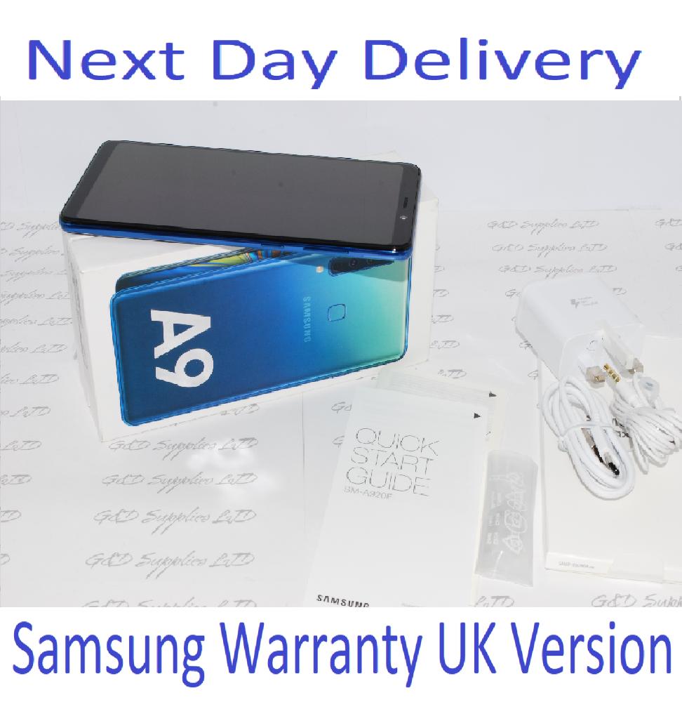 Samsung Galaxy A9 (2018) SM-A920F - 6GB RAM 128GB Blue, Single Sim UNLOCKED UK Version #