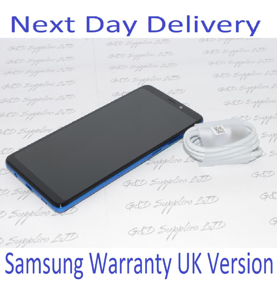 Samsung Galaxy A9 (2018) SM-A920F - 6GB RAM 128GB Blue, Single Sim UNLOCKED UK Version  NO BOX