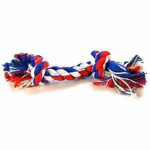 """Mammoth Flossy Chews Color Rope Bones EXTRA LARGE 16"""" **Picture is for representation only**"""