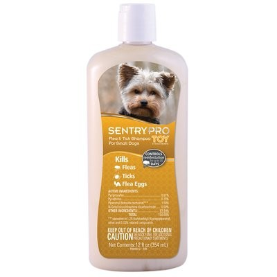 SENTRY PRO Flea & Tick Shampoo for Small Dogs (12 fl oz) (O.G3/PR)