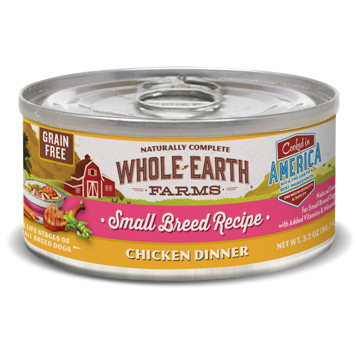 >>LAST CHANCE BOGO CLOSEOUT<< Merrick Whole Earth Farms GF Small Breed Chicken Stew for Dogs 3.2 oz 24 count (1/19 AND/OR 2/19) **Buy 1 Get 2, Buy 2 Get 4, Buy 3 Get 6, Etc.