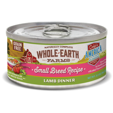>>LAST CHANCE BOGO CLOSEOUT<< Merrick - Whole Earth Farms Grain Free Small Breed Lamb Stew for Dogs 3.2 oz 24 count (1/19 AND/OR 2/19) **Buy 1 Get 2, Buy 2 Get 4, Buy 3 Get 6, Etc.