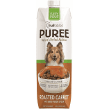 **BOGO** Fruitibles puree nature's perfect addition easy for roasted carrot with added vegetable stock dog food supplements 33.8 fluid ounces (6/19)