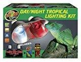 Zoo Med Day/night Tropical Lighting Kit, Includes 2 Bulbs (B.W4/AM4)