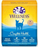 Wellness Complete Health Adult Dry Cat Food Deboned Chicken & Rice 12 lbs (8/19) (A.J1)