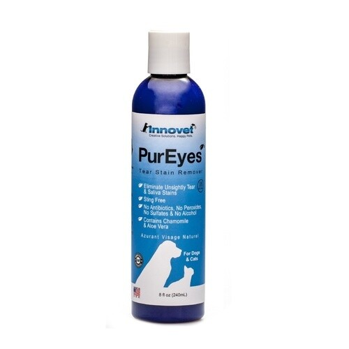 PuEyes Cat & Dogs Natural Tear & Saliva Stain Remover 120ml (O.D3/PR)