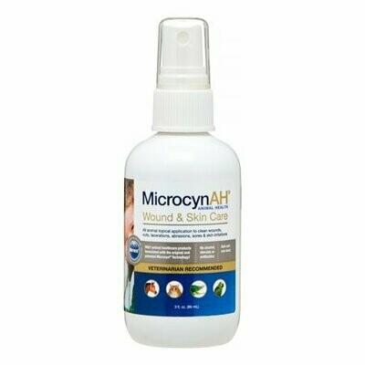 Microcyn, Wound & Skin Care Liquid Spray, 3 oz (O.Q1/PR)