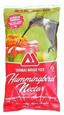 **SALE** HUMMINGBIRD NECTAR Natures Cafe 8 oz Hummingbird Nectar Powder (3/19)
