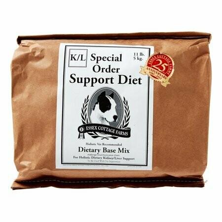 LAST CHANCE CLOSEOUT **BOGO** Essex Cottage Farms Special Order Kidney/Liver Support Diet Dry Dog Food, 11 Lb