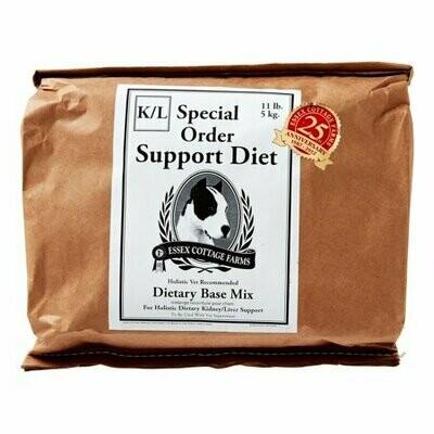 **BOGO** Essex Cottage Farms Special Order Kidney/Liver Support Diet Dry Dog Food, 11 Lb (A.B1)