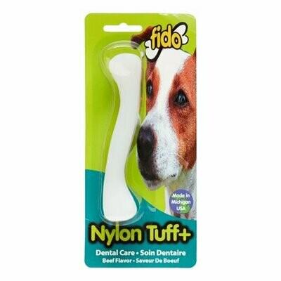 "Fido, 5-1/4"" Nylon Tuff Plus Beef Flavor"