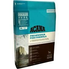 ACANA freshwater fish formula freshwater trout blue catfish yellow perch in Kentucky greens for dogs 25 pounds (9/20)