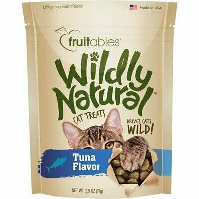 **BOGO** Fruitables wildly natural cat treats tuna flavor 2.5 ounces  (11/19)