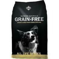 Diamond Naturals Chicken & Sweet Potato Dry Dog Food 5 lbs (10/20)