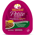 **BOGO** Wellness Petite Entrees Natural Grain Free Wet Small Breed Dog Food 3 oz 24 count (2/19)