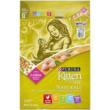Purina Kitten Naturals Chow 13 lb (6/20)