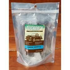 Tuckers jump in Jerry's hundred percent beef liver treats for dogs grain-free gluten-free individually wrapped treats handmade and Wisconsin 5 ounces (11/19)