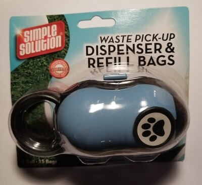 Simple Solutions Waste Pick Up Dispenser & Refill Bag  (B.W2/PR)