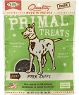 Primal Pet Foods Grain-Free Jerky Pork Chips Freeze Dried Dog Treat, 3 oz, (2/20)