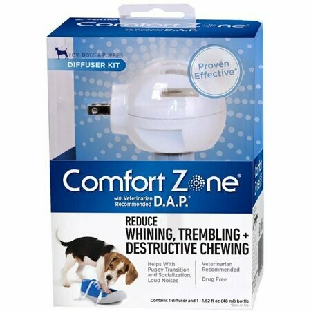 Comfort Zone Diffuser Kit For Dogs & Puppies D.a.p. Reduce Destructive Chewing