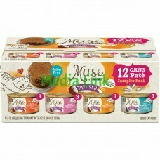 Muse by Purina Infused Variety Wet Pate Cat Food 3 oz 12 count