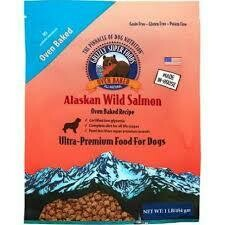 Grizzle Dog Oven-Baked All Natural 75% Alaskan Wild Salmon 1 lb (4/20)
