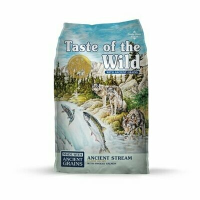 Taste of the Wild Ancient Stream Smoked Salmon Dry Dog Food, 14 Lb (9/20)