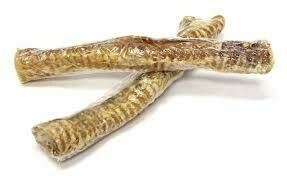 """Open Source Pet Products 12"""" Trachea for Dogs Dog Dental Treats & Natural Beef Dog Chews, Made in USA 1 COUNT"""