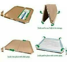 """Vets Best Dog Pad Holder for 21"""" x 21"""" Pads, Portable Tray for Pet Training & Puppy Pads - Protection Against Pad Leakage, Bunching & Shedding"""