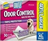 """Out! Ultimate Pro-Grip XL Dog Potty Pads 26"""" x 24"""" 30 Count  **Picture is for Representation ONLY**"""
