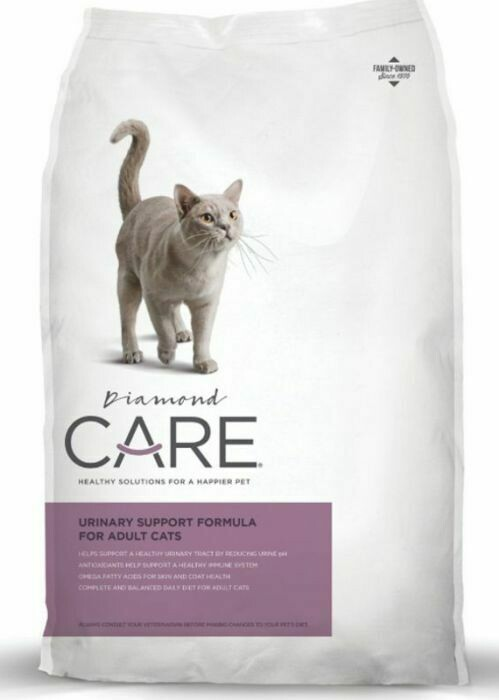 **BOGO**  ONLY 43 Cents Per Pound - Diamond Care Urinary Support Formula Adult Dry Cat Food 15 lbs (4/21) Just Buy 1, 2, 3, etc and we will double it on the backend.  Enjoy!