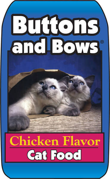 BUTTONS & BOWS CAT FOOD - CHICKEN 40 LBS