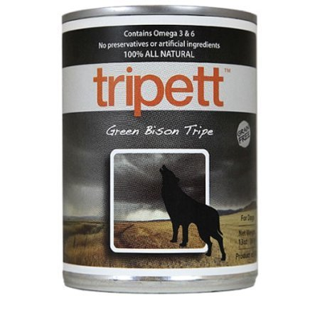 Petkind That's It! Grain-Free Green Bison Tripe Wet Dog Food, 13 Oz (4/20) SINGLE CANS