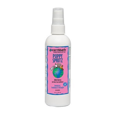 Earthbath Totally Natural Deodorizing Spritz for Puppies (8 fl. oz. Cherry) (O.C2/PR)