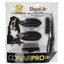 Conair Pet Shed it Deluxe Deshedding Pet Grooming Kit (B.B7)