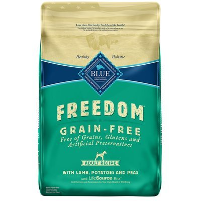 Blue Buffalo Freedom Grain Free Lamb Recipe Adult Dog Food, 4 lbs. (10/20)
