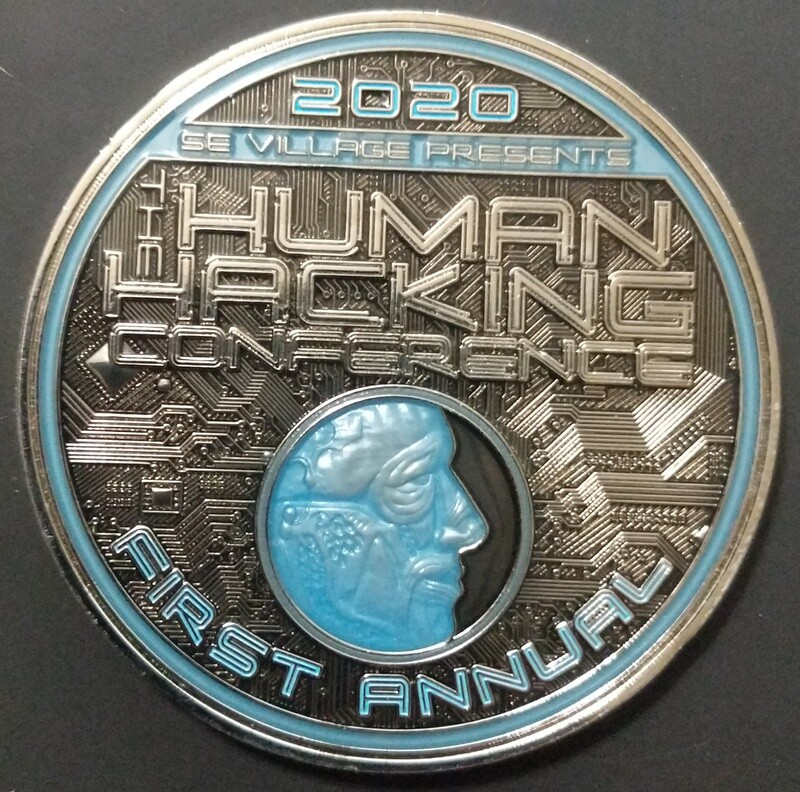 Human Hacking Conference 2020 Coin