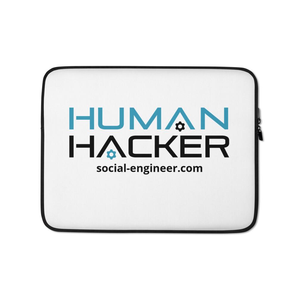 Human Hacker Laptop Sleeve