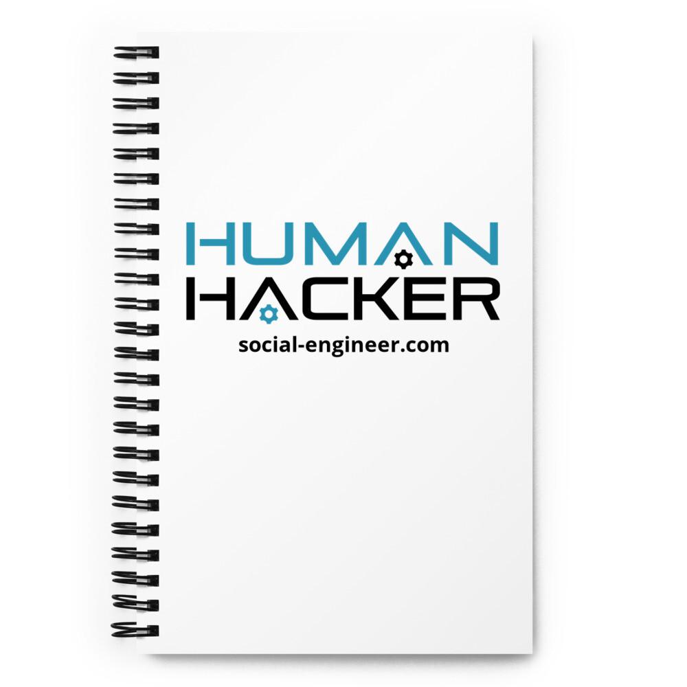 Human Hacker Spiral Notebook