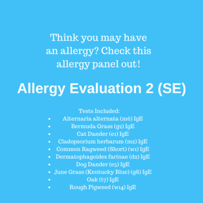 Allergy Evaluation 2 SouthEast