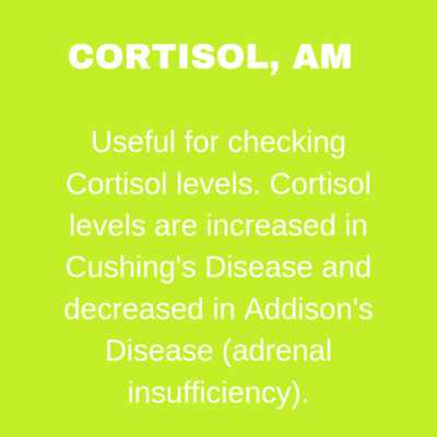 CORTISOL  A.M.