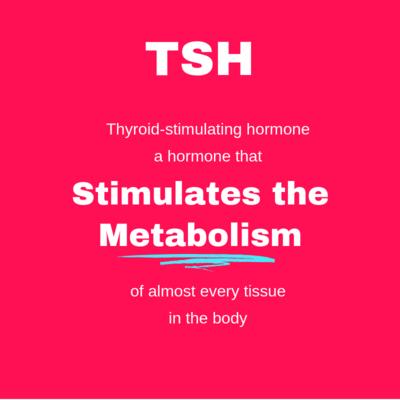 Thyroid Function  TSH