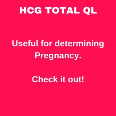 HCG TOTAL QL (B)