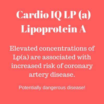 Cardio IQ LP (Lipoprotein A)